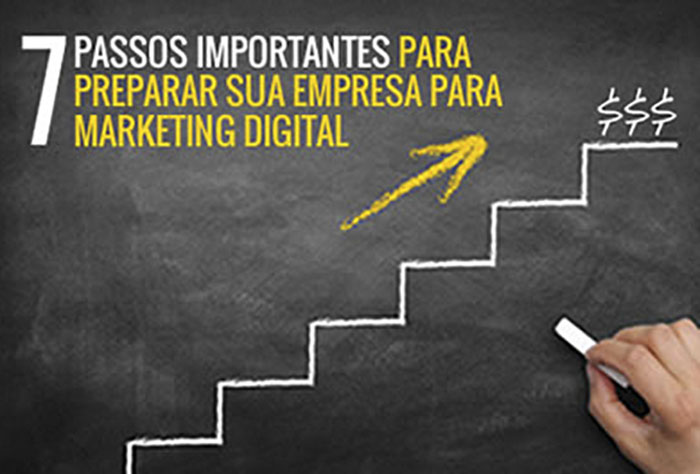 7 passos importantes para preparar sua empresa para marketing digital