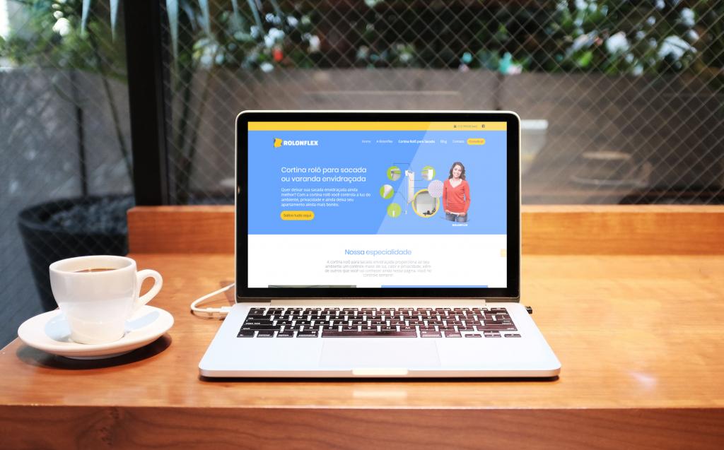 Site responsivo Rolonflex